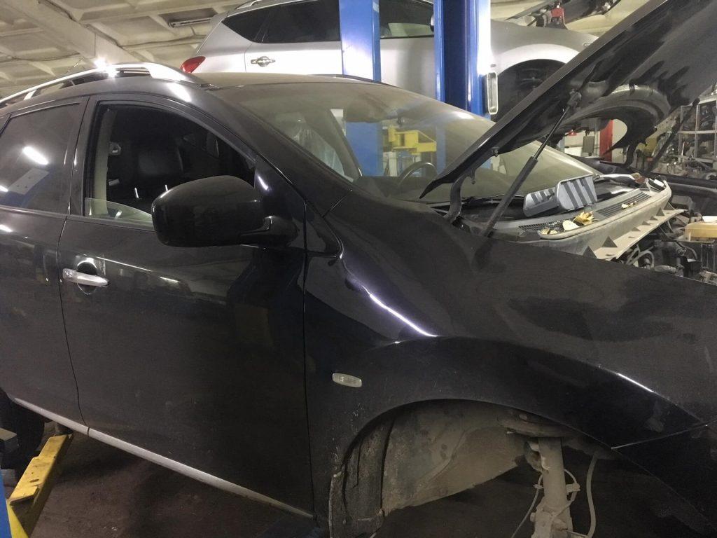 поломки Nissan Murano Z51