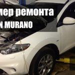 ремонт Nissan Murano Z51