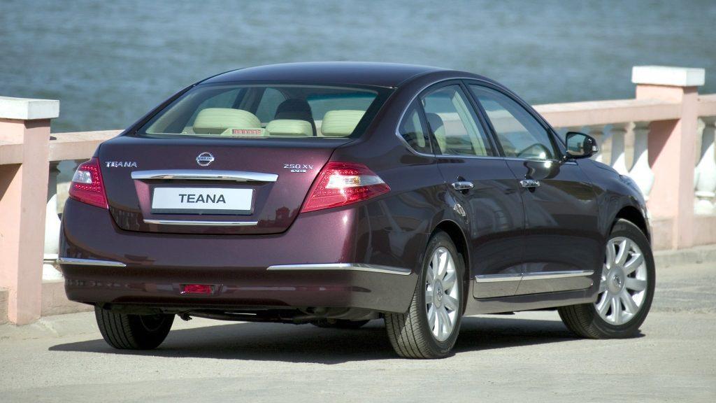Nissan Teana, общие технические характеристики