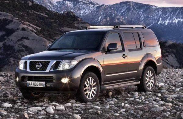 Общие характеристики Nissan Pathfinder