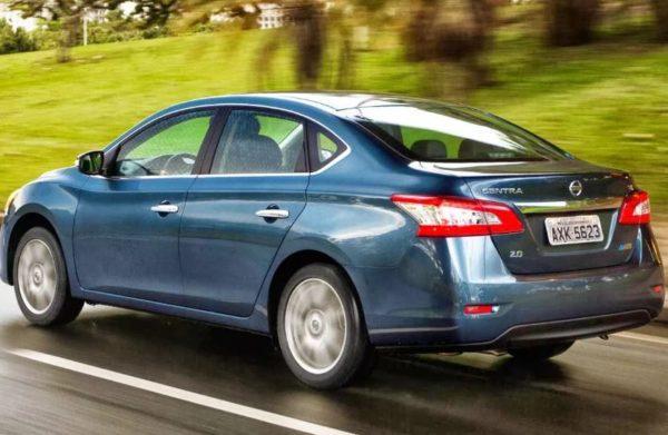 Характеристики Nissan Sentra 2014-2015